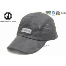 Kundenspezifischer faltbarer schnell trockener im Freien Sun-Golf-Hut-Sport-Kappe
