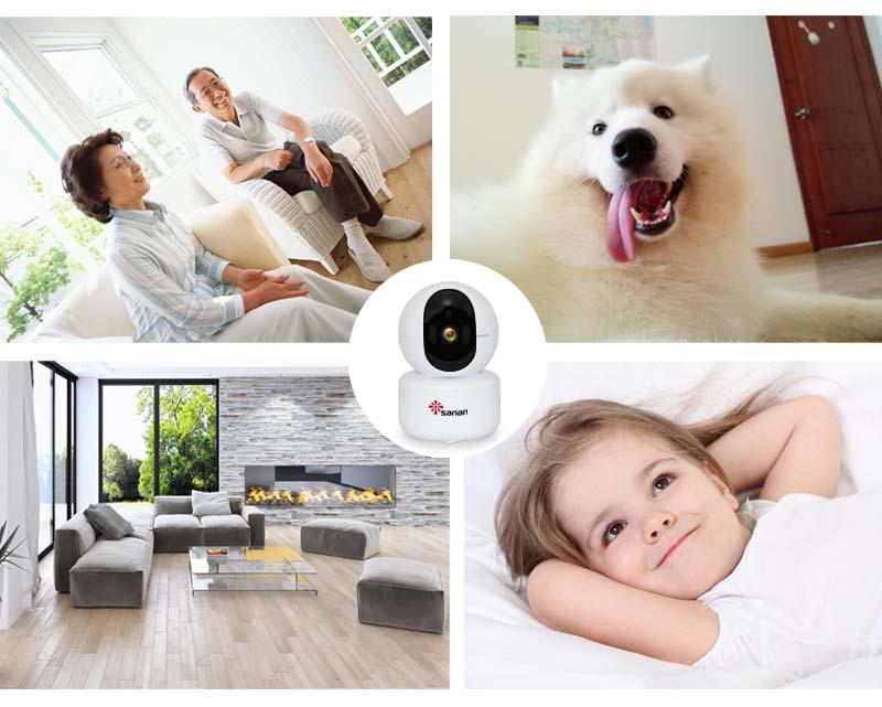 PTZ wireless camera