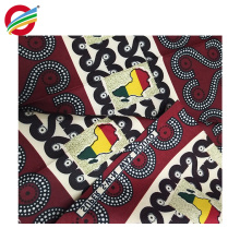 Pure polyester Tear-Resistant african print wax fabric wholesale