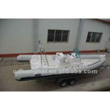 lujo de barco de la costilla HH-RIB730 con CE