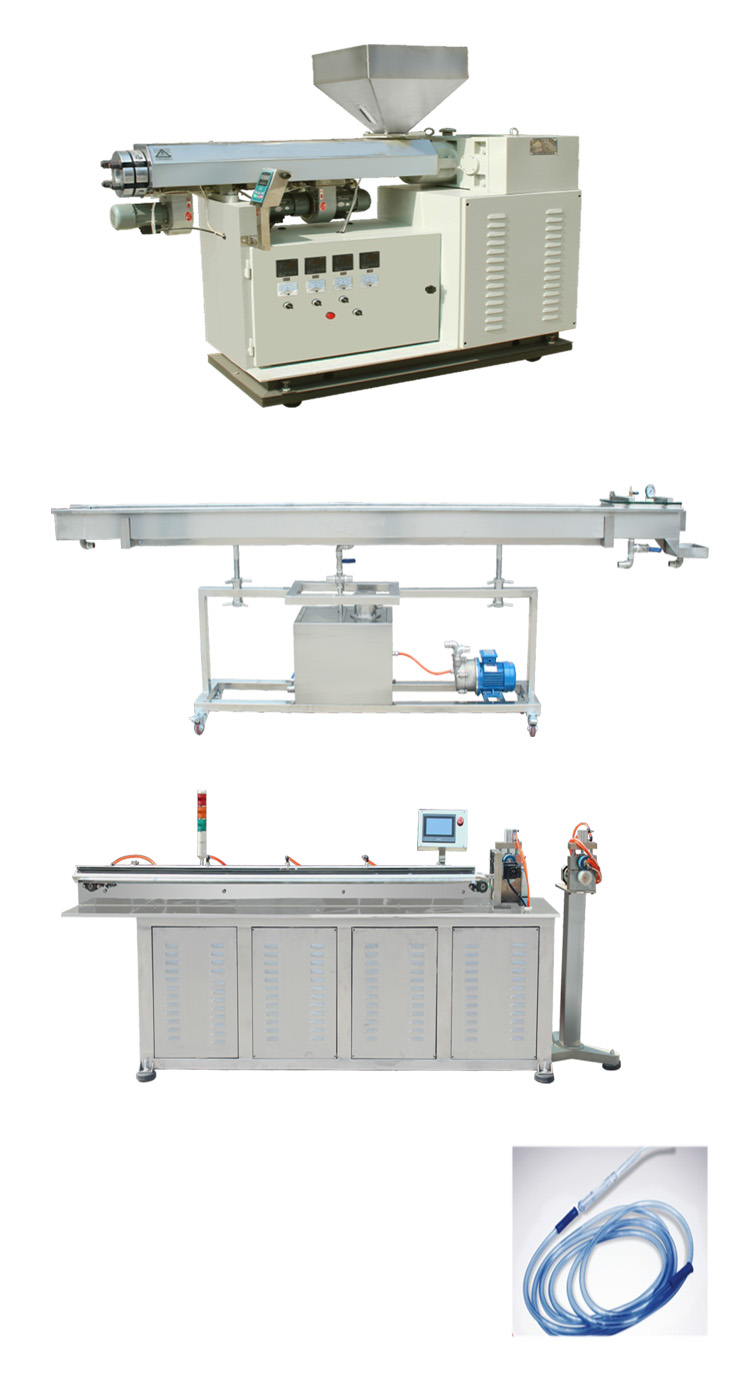 Plastic tube production line