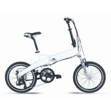 หลังเบรคจักรยานไฟฟ้าอย่างรวดเร็ว