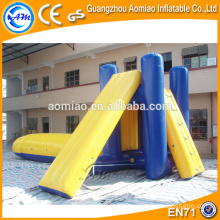 Diapositiva inflable inflable del paso del agua inflable de los deportes de agua diapositiva diapositiva inflable de la escalera del agua