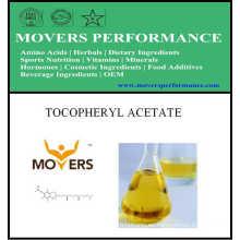 Ingrediente cosmético caliente de Slaes: Acetato de tocoferol con CAS No.: 58-95-7