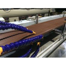 Línea de producción de alta calidad del tablero / del perfil de PVC / PE WPC