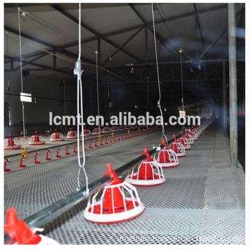 Chicken farms plastic chicken feeders for chicken feeding system