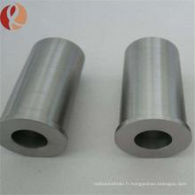 Haute dureté Tuyau métallique pur en alliage de tungstène