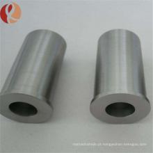 Dureza alta Tubo de metal de liga de tungstênio puro