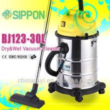 Popular Household aço inoxidável Barrel Wet e seco Aspiradores Home Appliance Dust Collectors Outdoor & Indoor aparelho