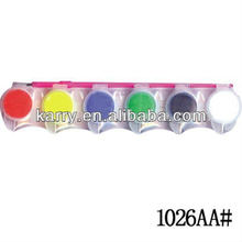 The Master Licensee of Disney in China:5ML 6 color WATER COLOR with brush