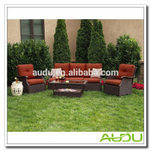 Audu Seattle Patio Garden Rattan Outdoor Wicker Sofa