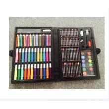 la peinture de crayon de couleur définit le cadeau pour le fournisseur professionnel de peinture d'art d'étudiant