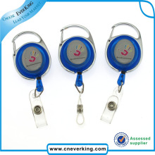 Heavy-Duty Retractable Badge Reel with Reinforced Metal Strap
