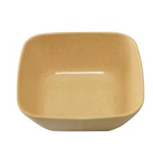 Bamboo Fiber Square Bowl Salad Bowl