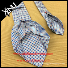 Wholesale Custom Made 100% Striped Woven Seven Fold Silk Tie
