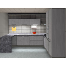 Wood Design Kitchen Cabinet (ZH-3929)