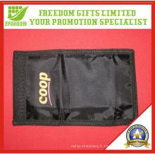 Portefeuille promotionnel imprimé le plus populaire de logo