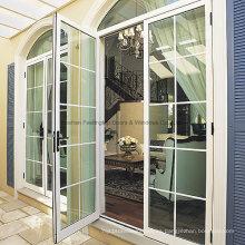 Puertas con bisagras de aluminio de alta calidad del sitio de Feelingtop del metal al por mayor