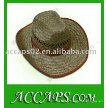 Chapéus de palha masculinos
