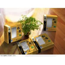 Caja de embalaje de cartón farmacéutico