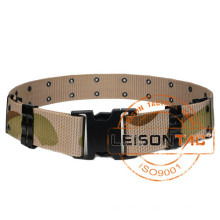 Strong Nylon Webbing Camouflage Military Tactical Belt for tactical hiking outdoor sports hunting camping airsoft