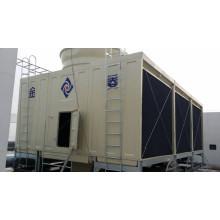 Torre de água tipo aberto com fluxo cruzado certificado pela Cti