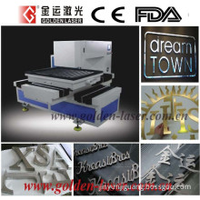 Metal Laser Cutter for LED Channel Letter Signs Words Logo Cutting (GJMSJG-8060)