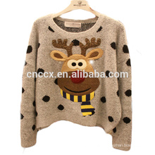 15CSK004 2017 new knitting patterns children cartoon sweater