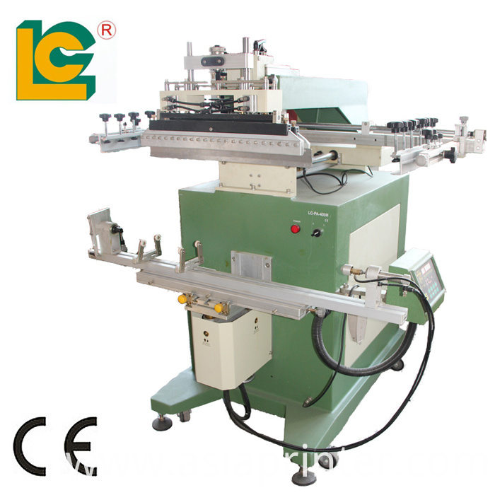 Fishing Rod and Cue Screen Printing Machine