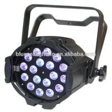 Крытый фарфор 18pcs 12w водить пар RGBW 4in1 крытый свет