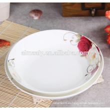 diseño de plato de sopa de cerámica