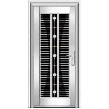 Portes vers l 39 ext rieur en acier inoxydable for Porte acier exterieur