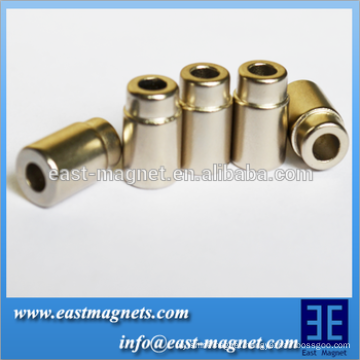 Cylinder hole permanent NdFeB Magnet
