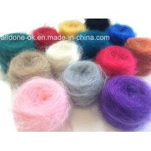 Novedad Mohair tejer hilado de lana merino acrílico tejido suéter del bebé