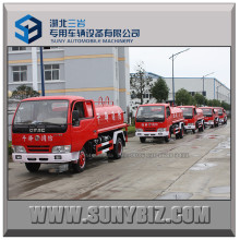 5t Light Simple Water Tank Truck Fire Truck
