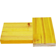 27mm pine spruce fir core  3 ply yellow shuttering panel for export