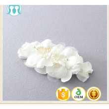 flor branca da manta das meninas coreanas novas do projeto para o headwear da princesa das meninas dos miúdos
