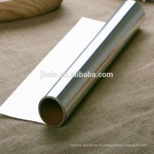 feuille d'aluminium pour le lait et le yogourt et d'autres emballages laitiers, par l'impression ou la peinture et d'autres traitement