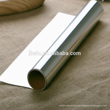 papel de aluminio para leche y yogur y otros envases lácteos, por impresión o pintura y otros procesos