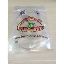 Soem / ODM akzeptierte wiederverschließbare Plastikplätzchenverpackungs-Lebensmitteltasche