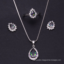 Best selling zirconia bridal jewelry set manufactured in China