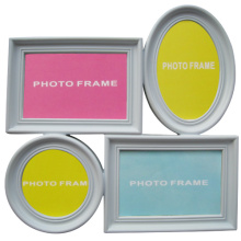 Popular White 4 Opening Plastic Collage Frame