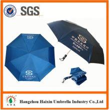 Spezielle Print-Holz Auto-Regenschirm mit Logo