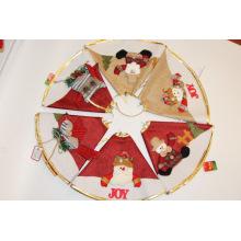 Weihnachtsbaumrock für Weihnachtsfeier Feiertagsdekoration