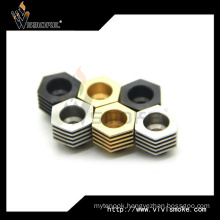 in Stock for New E Cig Accessoies 510 Drip Tip Heat Sink Adapter