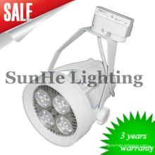 Reine Aluminiumlegierung führte Schienenlicht u. 30W warmes weiches Licht geführtes Schienenlicht