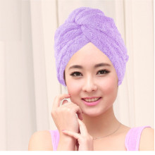 Strong Water Absorption Antibacterial Microfiber Hair Towel