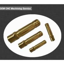 China Präzision CNC bearbeitete Metallteil, Kundenspezifische Größe angeboten