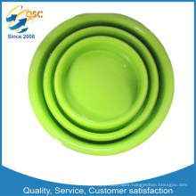 High Quality colorful OEM Collapsible Silicone Cup