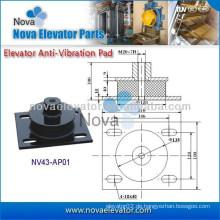 Aufzug Anti-Vibrations-Pad Gummi-Pad, Lift Ersatzteile